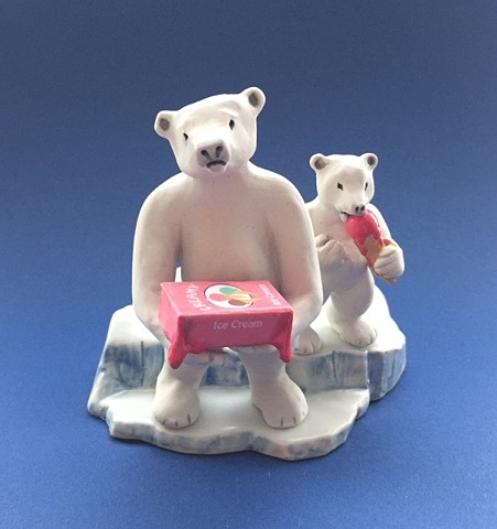 porcelain bears