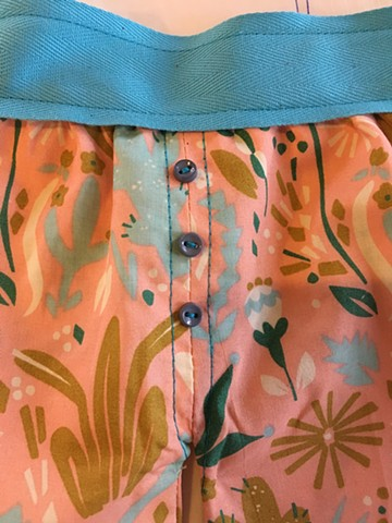 Charley's bathing suit (detail)