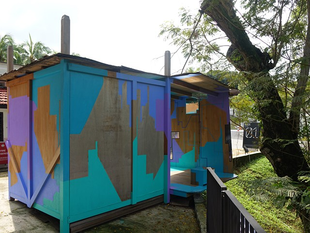 Outdoor Installation Project, Merryn Trevethan, Gillman Barracks Singapore, Public Art