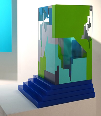 Acrylic Sculpture by Merryn Trevethan