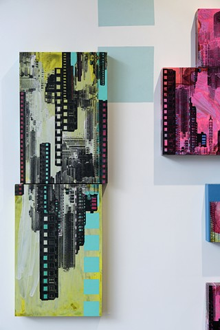 Cityscape artwork by Merryn Trevethan Ruin Nation