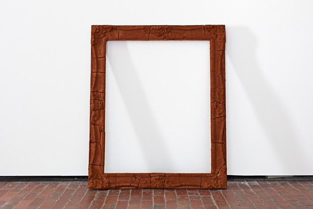 The colonial frame (crumbling the James Stirling portrait frame)