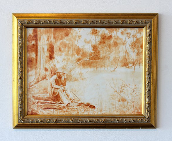 Whitewash: Frederick McCubbin's Down on His Luck
