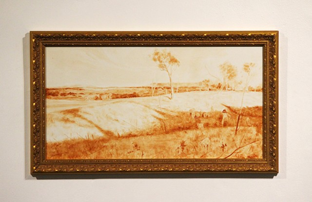 Whitewash: Arthur Streeton's Golden Summer, Eaglemont