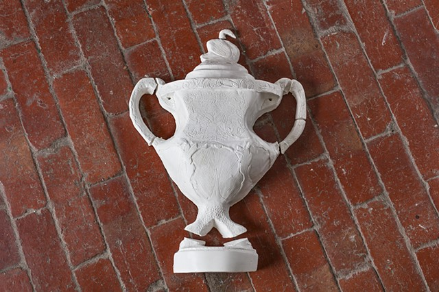 The colonial trophy (replicating James Stirling's Presentation Cup)
