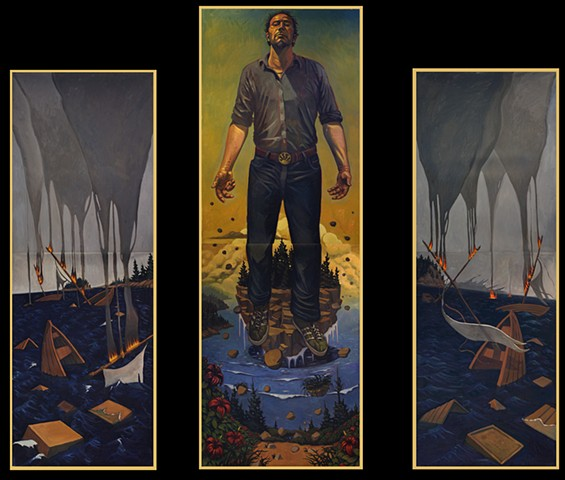 Triptych by Nathaniel Meyer