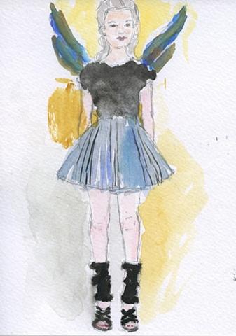 Mini-Skirt Angel