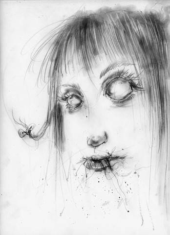 Nightmare Soup, Stephen Gammell, Scary Stories to tell in the Dark, horror, creepy
