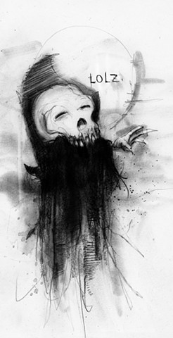 horror, scary stories, illustration, creepy pasta, comics, Krampus