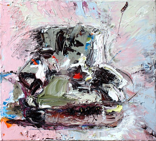 #painting of chair #zenduart #zendu #contemporary painting #bayareaartists #bay area artists