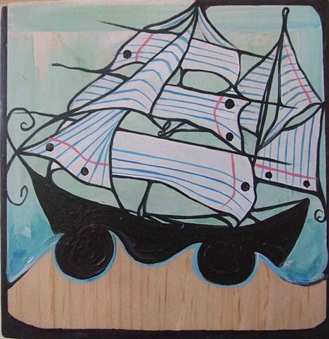 Love Letter Ship