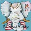 Paper Ear Elephant