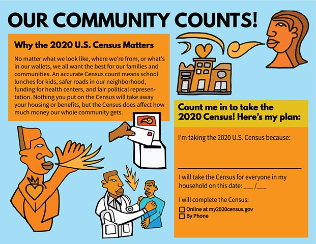 Our community counts!