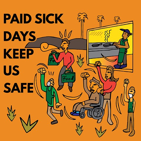 Paid sick days keep us safe