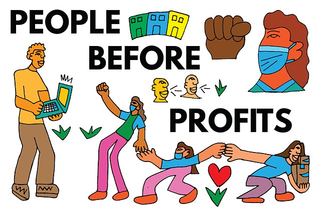 People Before Profits!