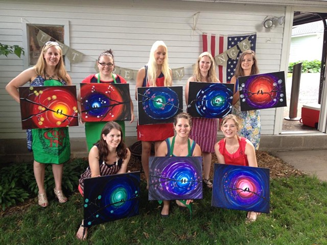 Bachelorette Paint Party