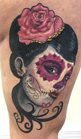 Tiffany's day of the dead