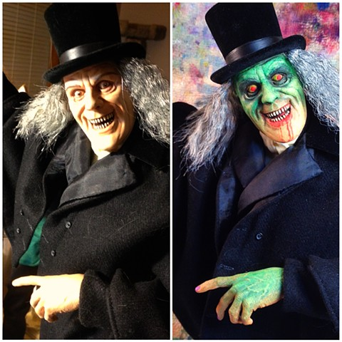 """London After Midnight"" Lon Chaney (sideshow toys) Basil Gogos inspired kit Bash"