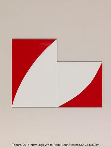 New Logo(White-Red): Bear Stearns#30