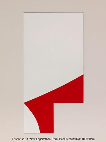 New Logo(White-Red): Bear Stearns#31