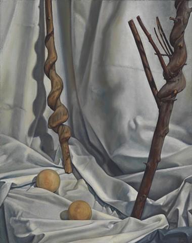 Pamela Sienna still life painting