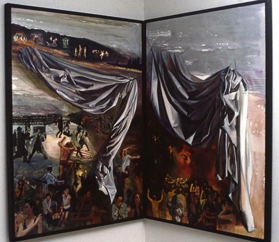 Pamela Sienna oil painting