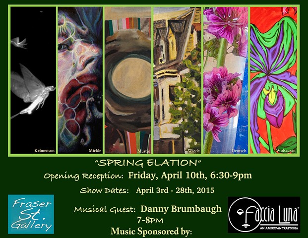fraser st gallery, state college art, paintings, photography