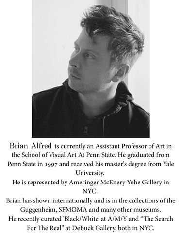Guest Curator: Brian Alfred