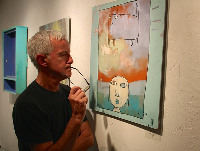 Gallery patron, Paul Ruby