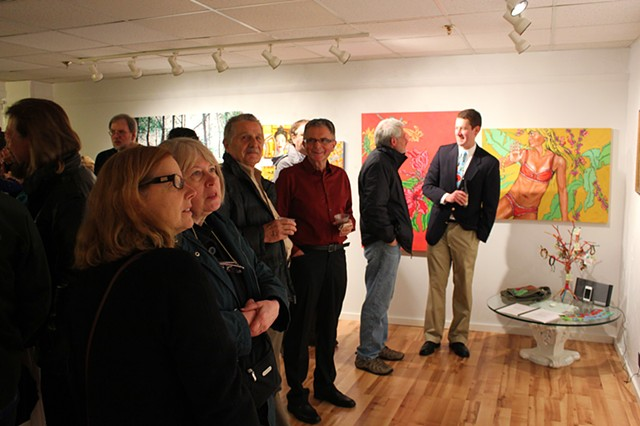 "Fraser St. Gallery Presents: ""Earthlight"" Opening Reception"