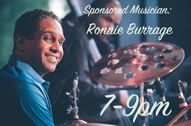 Sponsored Musician: Ronnie Burrage