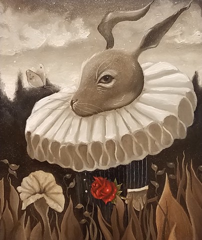 Mr. Hare (In the Name of the Rose)