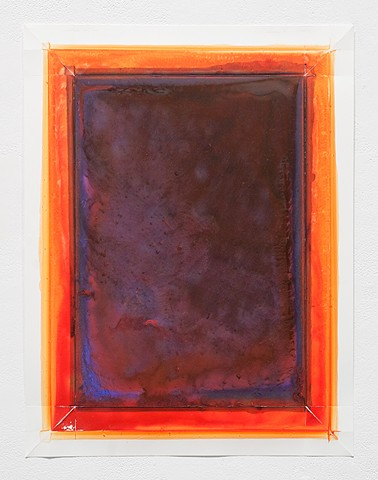 Abstraction, Colourfield, process, painting, Matt W. Brown, Matt Brown