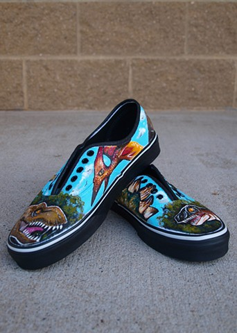 Jurassic Park Commission Shoes