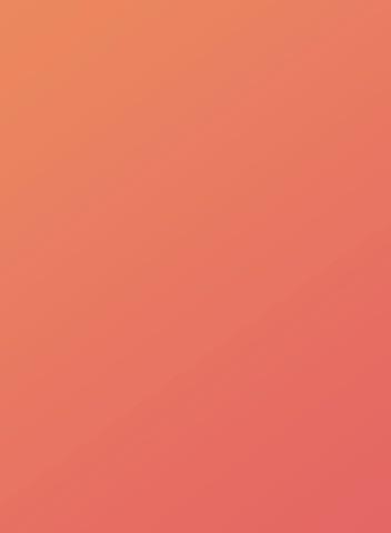 orange moyen/orange-rouge