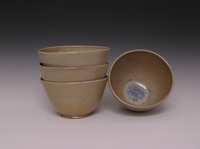 Blue Ice Serving Bowls