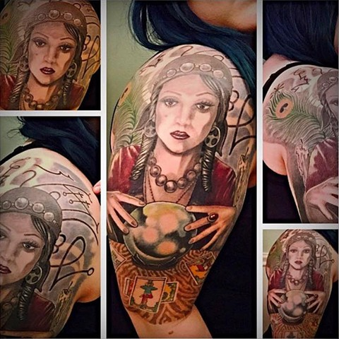 Soothsayer half sleeve