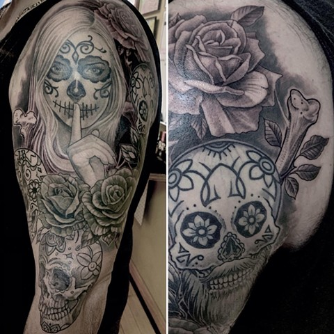 Dayofthedeadsleeve