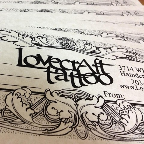 Lovecraft Tattoo, Connecticut Tattoo, Best Tattoo studio,Tattoo Gift Certificates, Tattoo gift ideas