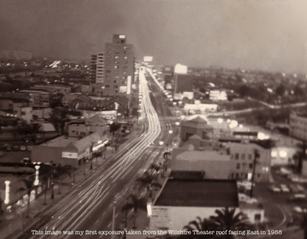 """Wilshire Blvd . . . facing East-1-1958"""