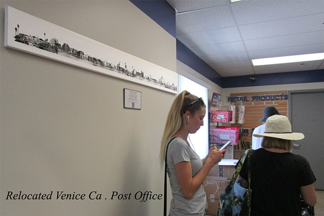 Venice Boardwalk installation at the new Venice Ca. Post office