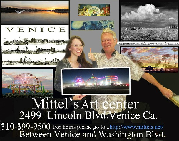 """Mittel's Art Center""  Venice California 2015"
