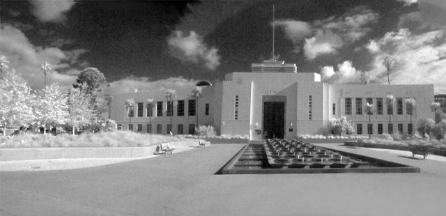 Santa Monica City Hall (Infrared)