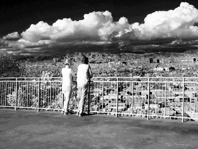 Los Angeles infrared view from Baldwin Hills