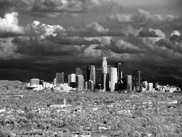 Downtown Los Angeles Ca. (Infrared)