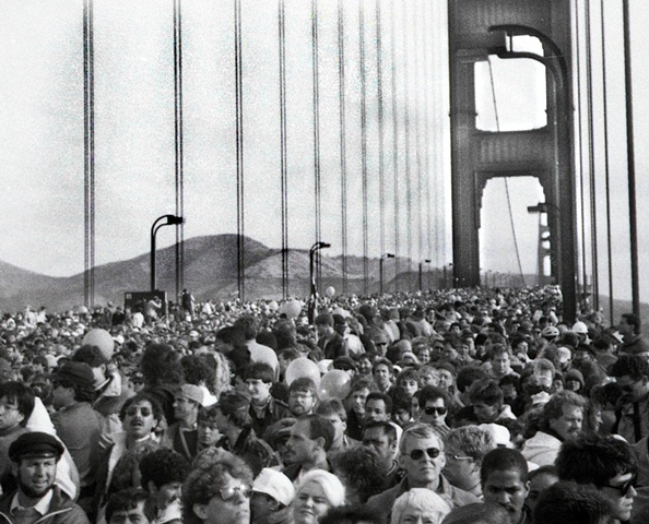 Golden Gate Brige San Francisco Ca.50th year celebration