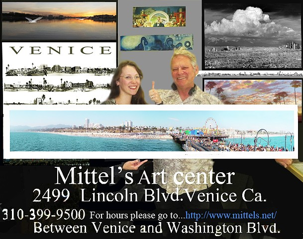 Mittel's Art Center 2499 Lincoln Blvd. Venice Ca. 90291