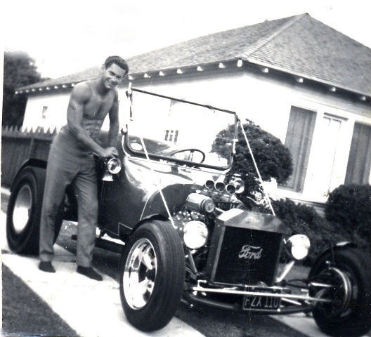 Our Model T-Ford Roadster in 1960