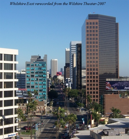 Returning photograph from the same building of Mid-Wilshire Ca. in 2008