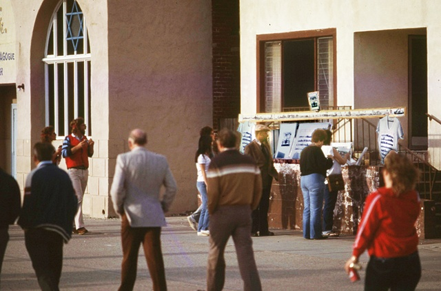 Venice Boardwalk Ca. Richard Mann primary exhibition 1982